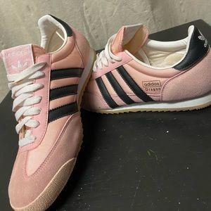 Adidas Dragon Pink/Black 💗Vintage size 8